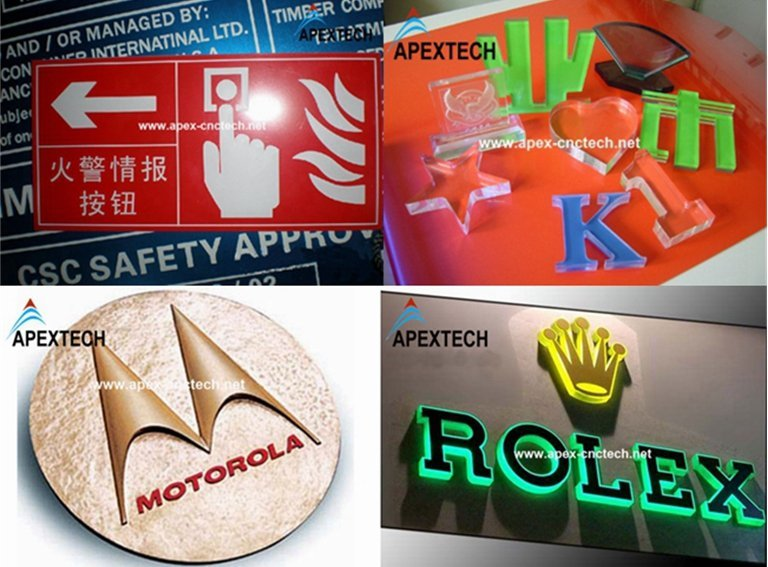 Advertising Signs Logo Making Industry