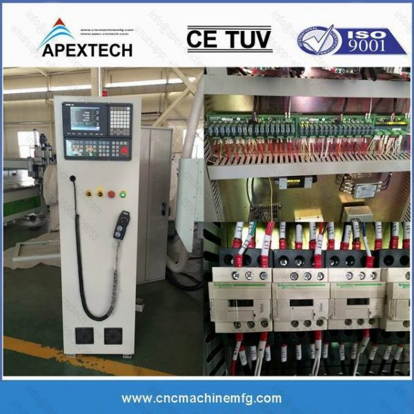 1325 Automatic Feeding China CNC Wood Router Carving Machine for Windows, Doors Hinge Routing, Lockers, Furniture Drilling Machine