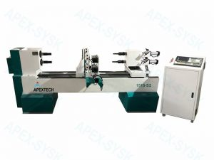 Wood Turning Broaching Lathe CNC Router