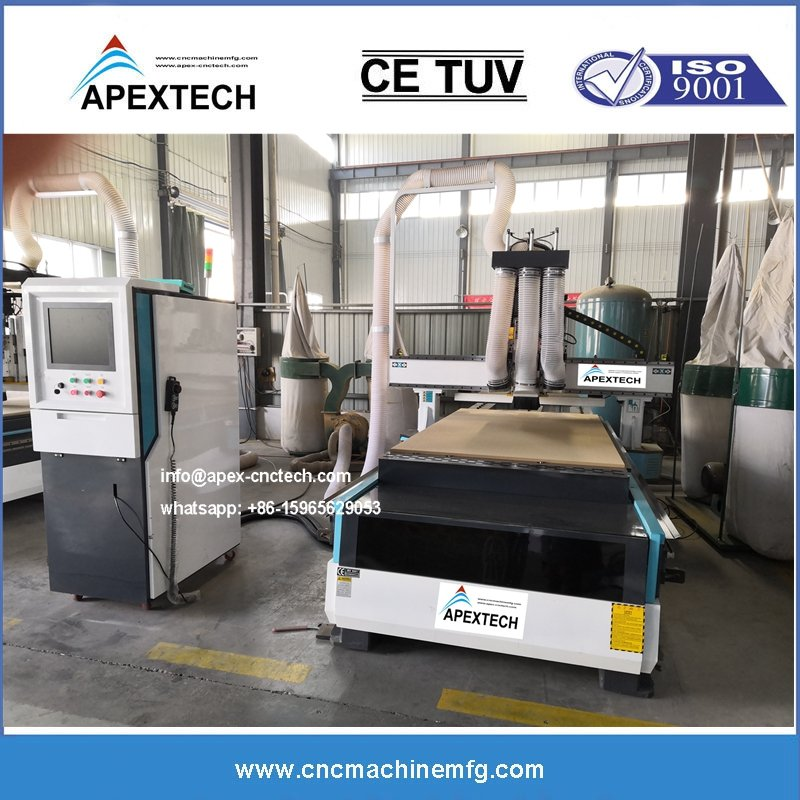 wood cnc router manufacture zhongke apextech cnc made in China with cheap price