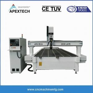 2030 Liner ATC CNC Router with Automatic Tool Changer Spindle Engraving Wood Router with SYNTEC Control System