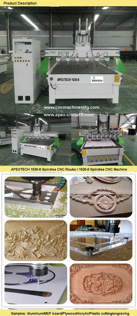 3D Woodwork Furniture Cabinetry CNC Carving Router Machine