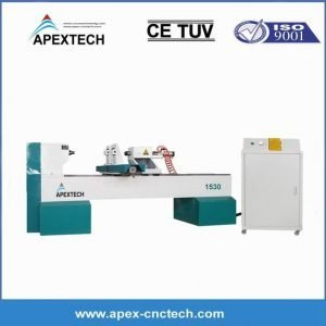 A1530 Wood Turning Cnc Lathe Machine For Staircase Billiard Cues Making