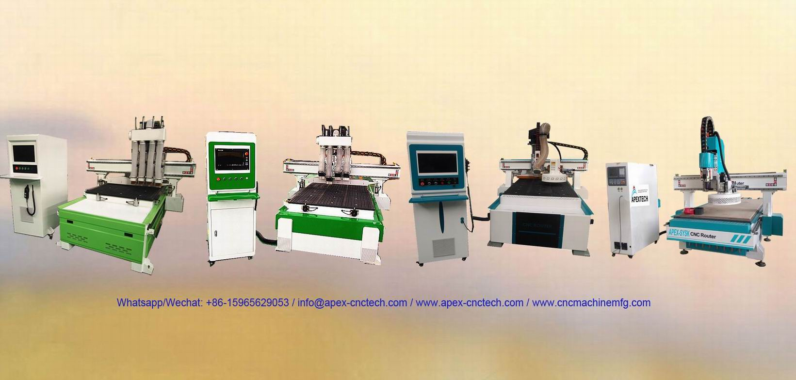 ATC CNC Router with Automatic Tool Changer Spindle Wood Engraving Machine