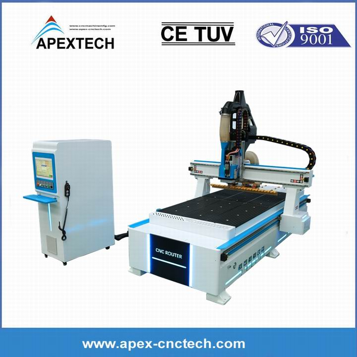 Automatic Tool Changer CNC Machining Center for Woodworking Cutter Router