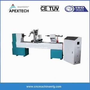 B1530 Single Axis One Spindle Hollowing Broaching Twisting Wood CNC Lathe Router