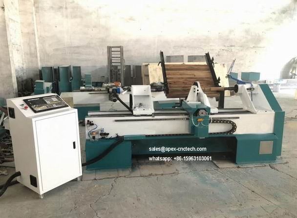 Multi-Function CNC Wood Lathe with Automatic Loading System