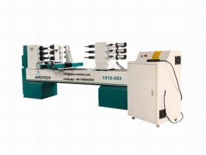 1512-3Axis 1512 Affordable Price Wood CNC Lathe Machine for Sale