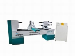 1516 Double Axis Automatic CNC Wood Lathe Machine for Table Legs