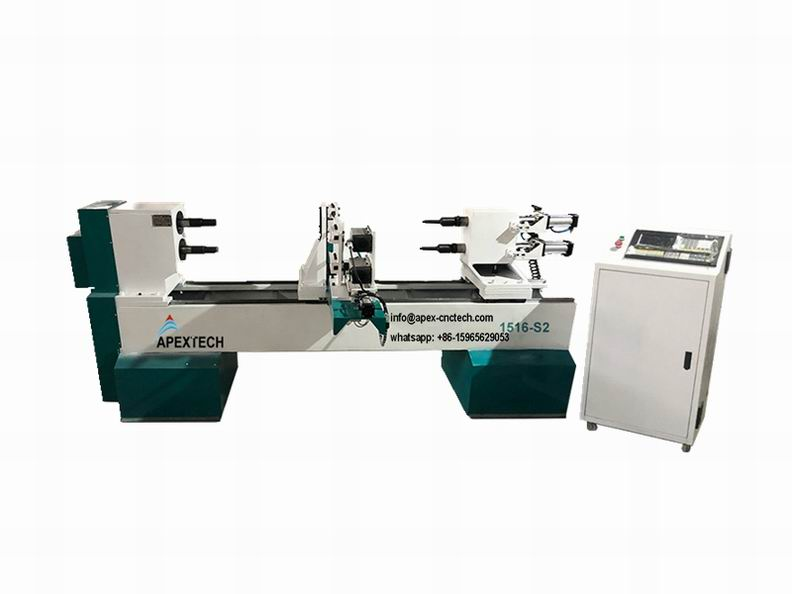 2021 CNC Turning Lathe Machine for Custom Woodworking at Low Price