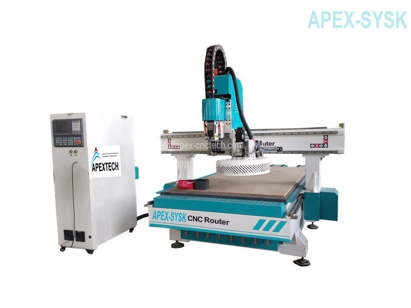 2021 best Wood CNC Router Machine with 1325 Carousel Automatic Tool Changer