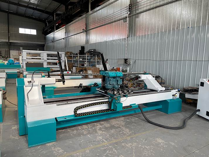 3 Axis 1530 CNC Wood Turning Lathe for Custom Wood Staircase