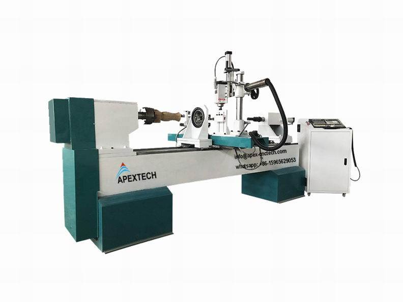4 Axis CNC Lathe Machine for 3D Turning, Carving and Broaching tools