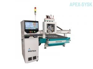 CNC Cabinet door making machine CNC Router Table with Door Keyhole Pneumatic Drill (1)