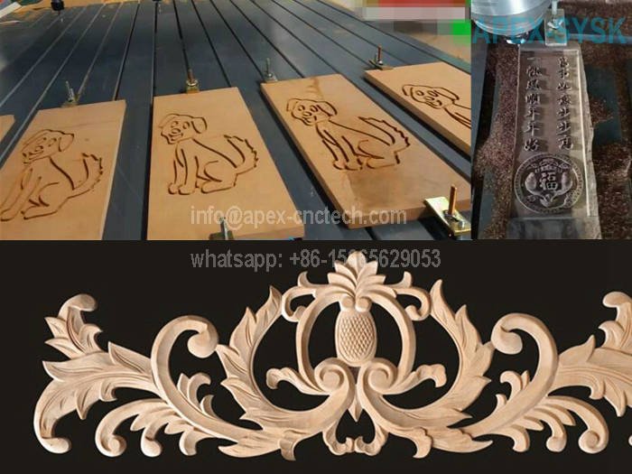 CNC Machine Application for CNC Router Wood Carving