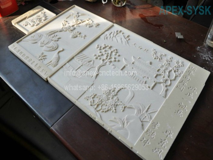 CNC Machine Application for Router Wood Design
