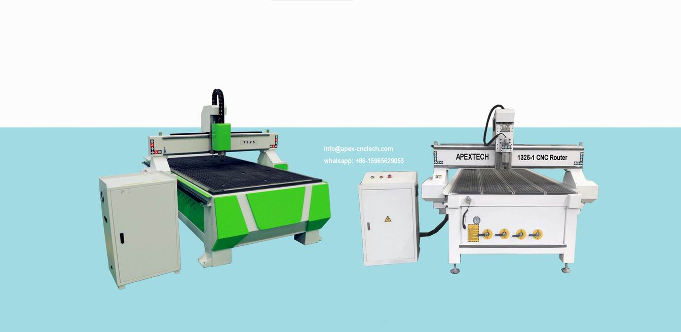 CNC Machine for Wood Design CNC Router A1325-1 Spindle