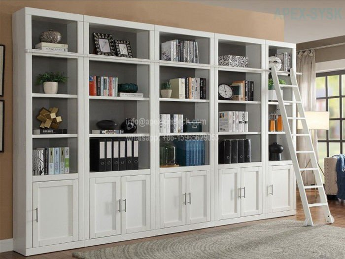 CNC Router Machine Projects for Bookcase Closets Pantries