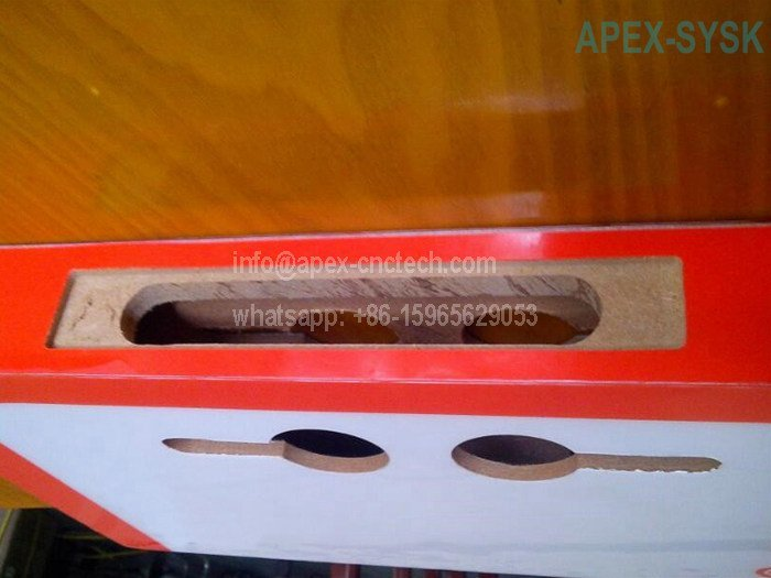 CNC Router Machine Projects for Door Keyhole Drilling Application