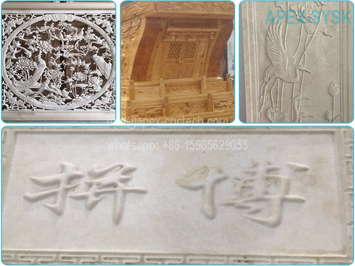 CNC Router Projects CNC Machine for MDF Sheet Relief Sculpture Carving