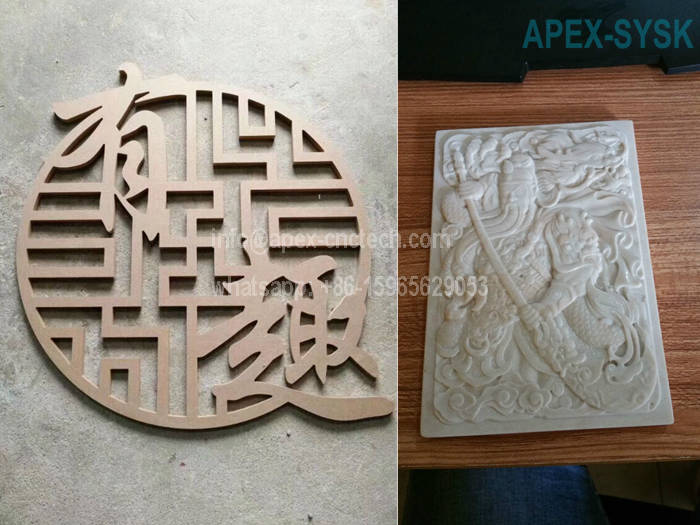 CNC Router Projects CNC Machine for Solid Wood Cutting Drilling