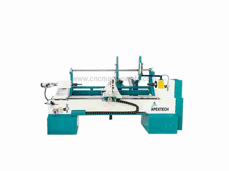 CNC Wood Lathe Machine with Multi-Functional Automatic Loading System at low price