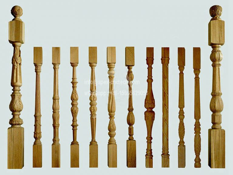 CNC Wood Lathe Turning Staircase Pillar Projects