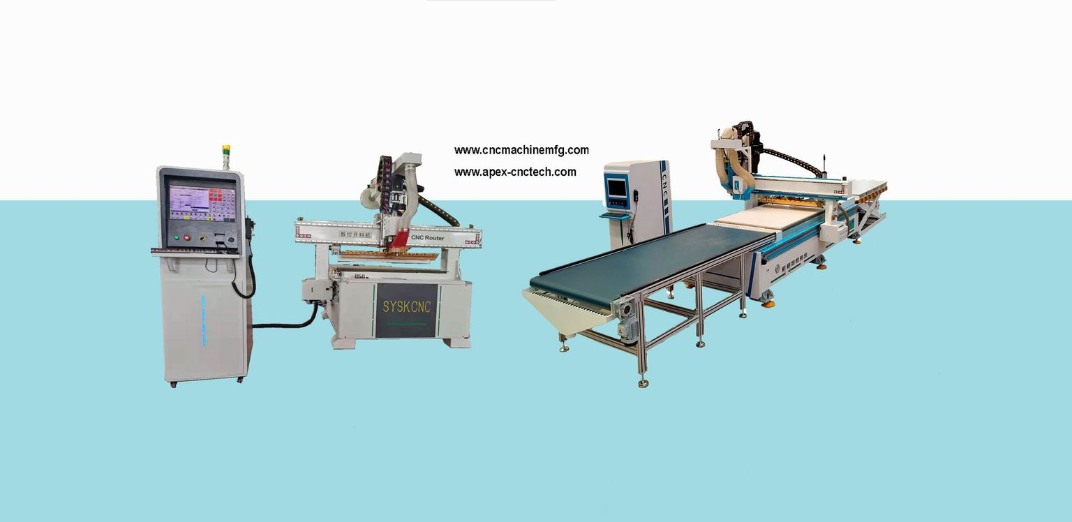 Cabinetry CNC Machine Full Automatic CNC Router Panel Furniture Production Line