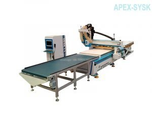 Cabinetry CNC Machines Full Automatic CNC Router Panel Furniture Production Line
