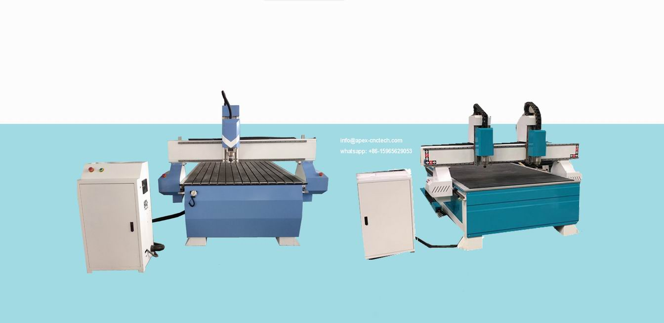 Economic CNC Router Machine 8x4 For ABS Cutting, PVC MDF Cutting