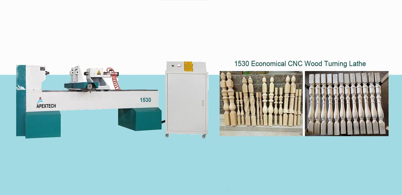 Low Price Automatic CNC Wood Lathe Machine for Sale with New Style