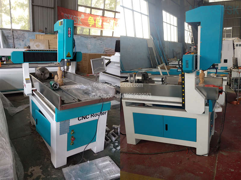 Mini CNC Router Table 6090- rotarty axis cnc