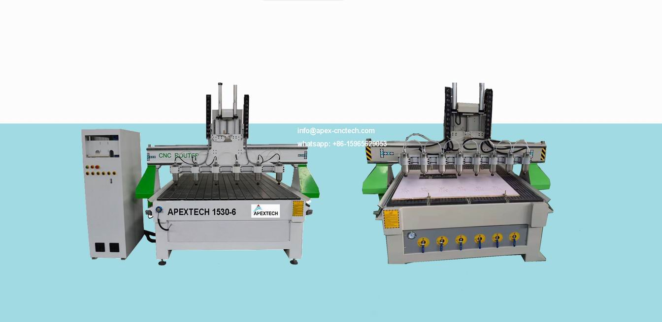 Multi Heads CNC Wood Router Carving Machine