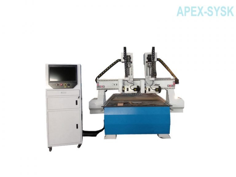 Multi-head CNC Router for Woodworking Cutting Machine
