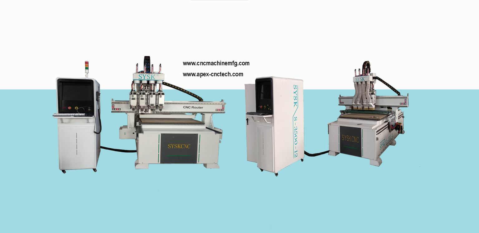 Multi-head CNC Wood Router Carving Machine For Sale