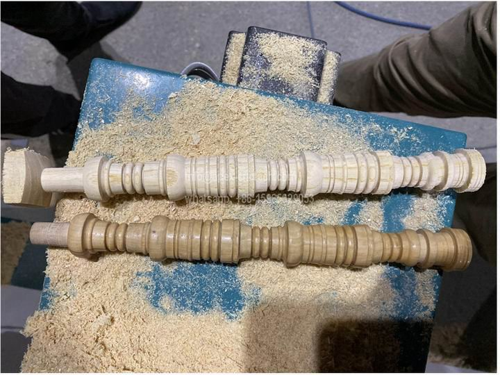 Musical Instrument CNC Wood Turning Lathe Projects