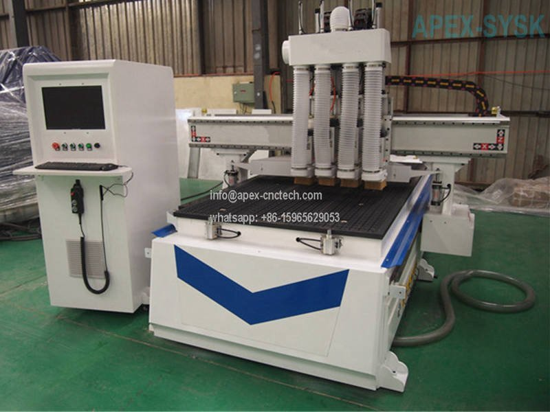 Pneumatic Tool Change CNC Router