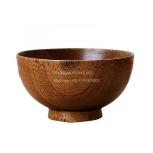Wood Bowls Wooden-Soup Bowl Healthy Food Container Dinner Tableware wood lathe
