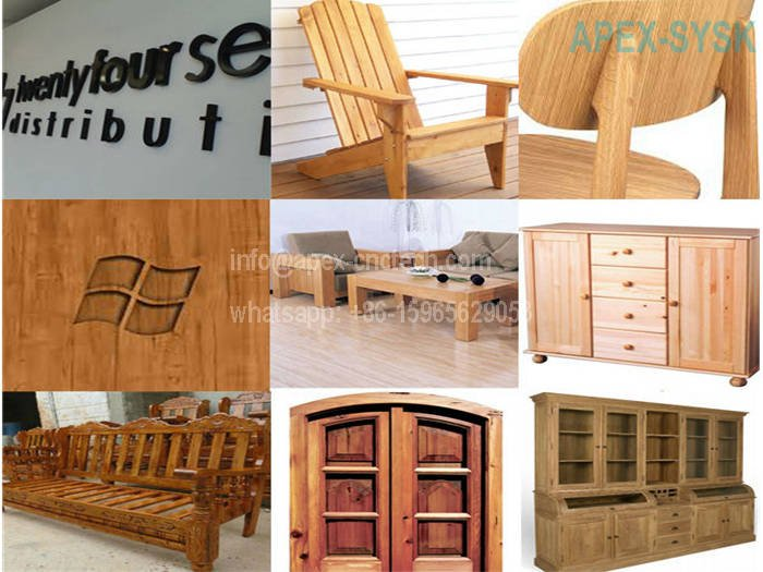 Wood CNC Machine CNC Router Projects for Doors Desks Chairs Sofas Windows