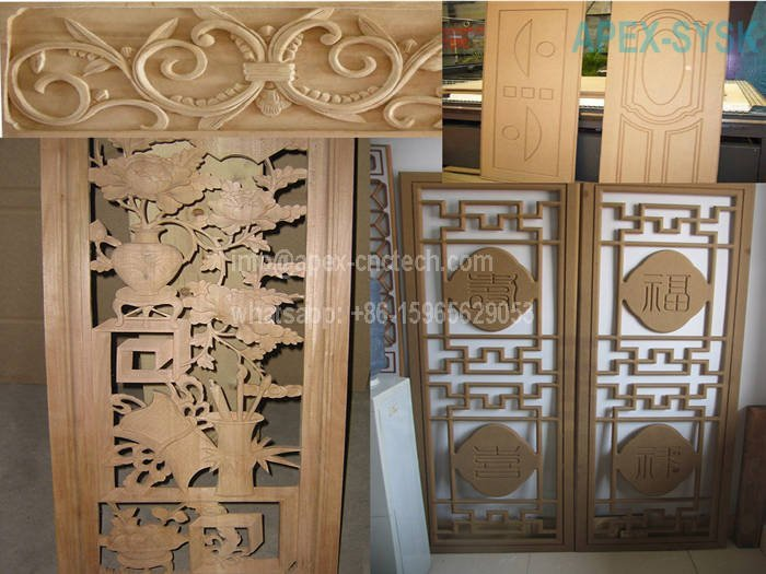 Wood CNC Machine CNC Router Projects for Solid Woodworking Arts Decoration