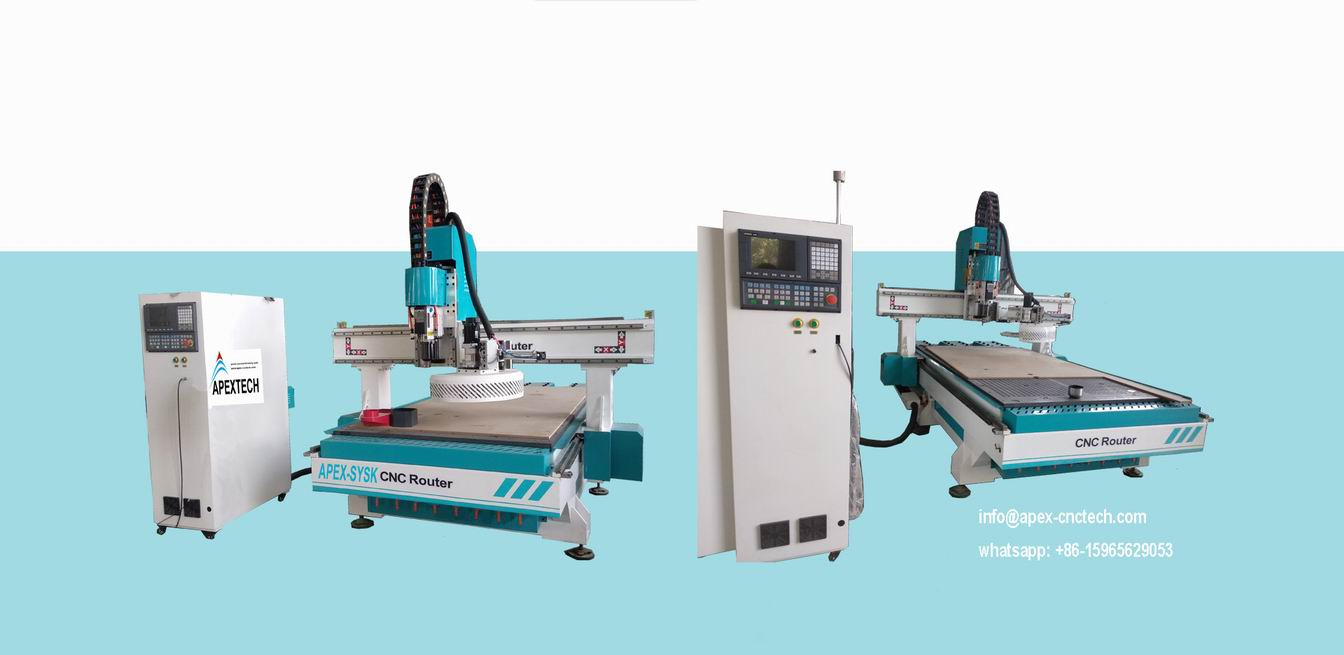 Wood CNC Router Machine with 1325 Carousel Automatic Tool Changer