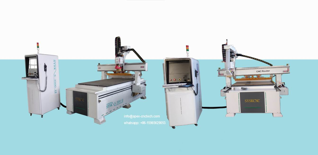 Wood CNC Router Machine with Spindle CNC Carving Cutter
