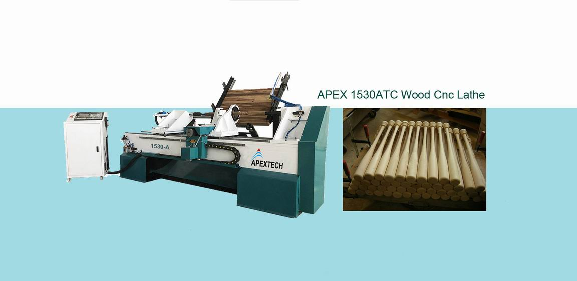 Wood Turning CNC Lathe Machine for Sale with Full Auto Feeding System