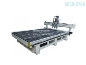 cnc machine Multi-head CNC Router with 3 Spindles