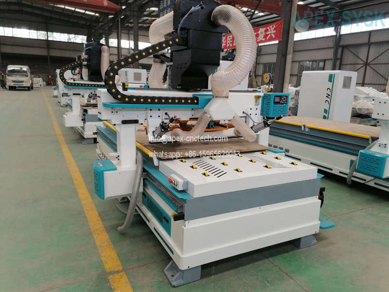 full-automatic Intelligent CNC Router for Cabinet closet door furniture production