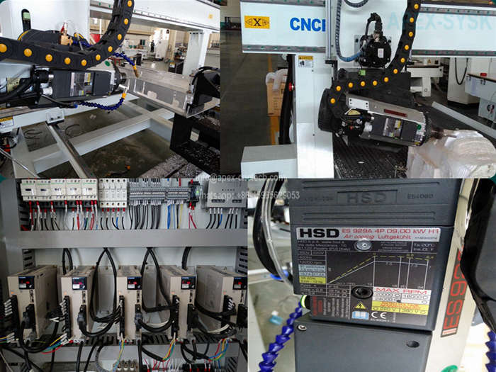1325-4axis CNC Wood Router Machine 4Axis CNC Router