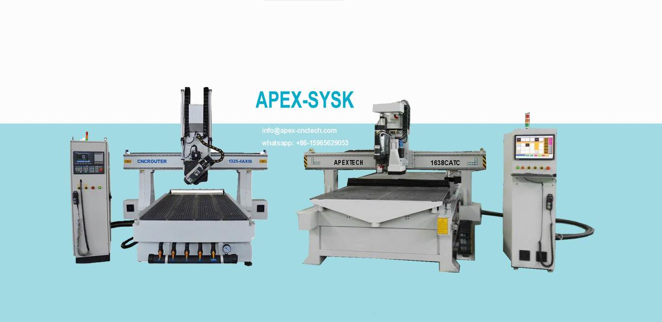 1325 ATC 4Axis Drilling Head Door Cnc Router used for side slot milling, drilling, cutting keyhole