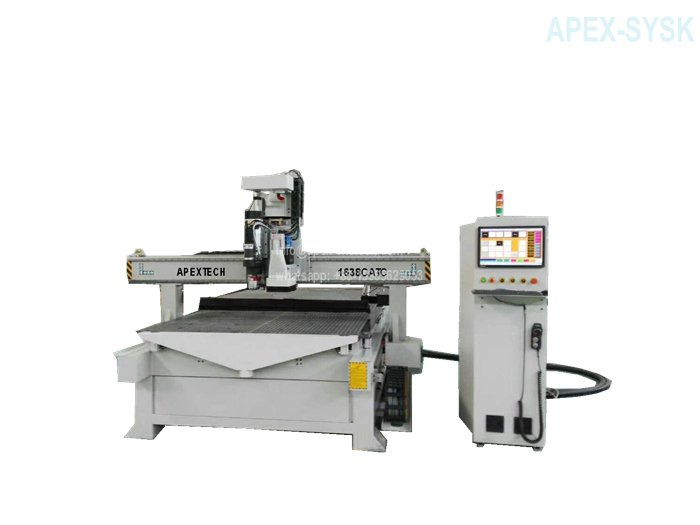 1638 side 4 Axis CNC Wood Router with Automatic Tool Changer System for Sale at Cost Price