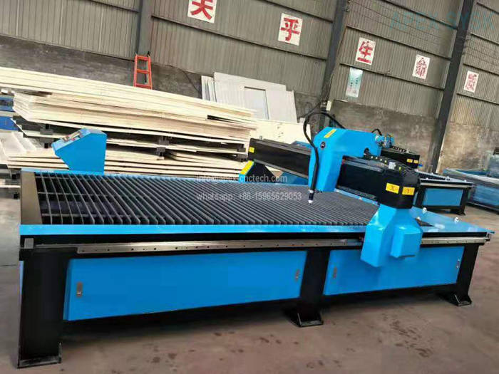 2030 steel plasma cutting router on drilling holes