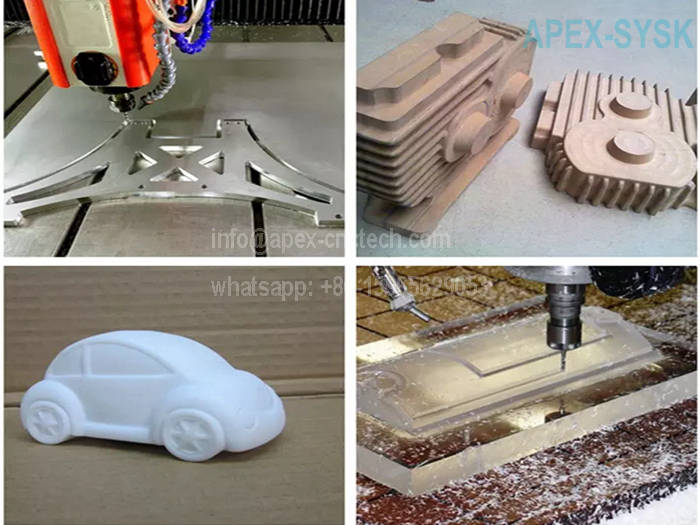 4Axis 3D CNC Router-China CNC Milling Machine